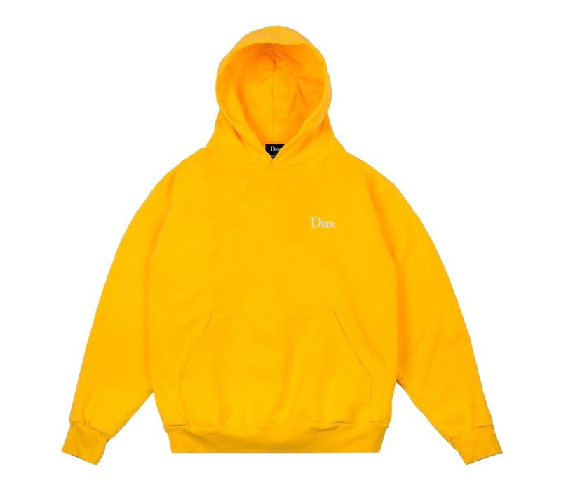 Dime Classic Embroided Hood Yellow