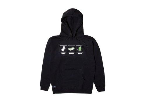 Ripndip RipNDip Pu$$y Money Weed Hood Black