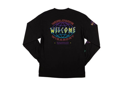 Welcome Welcome Global LongSleeve Tee Black