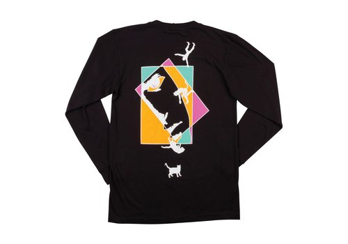 Welcome Welcome Faces LongSleeve Tee Black