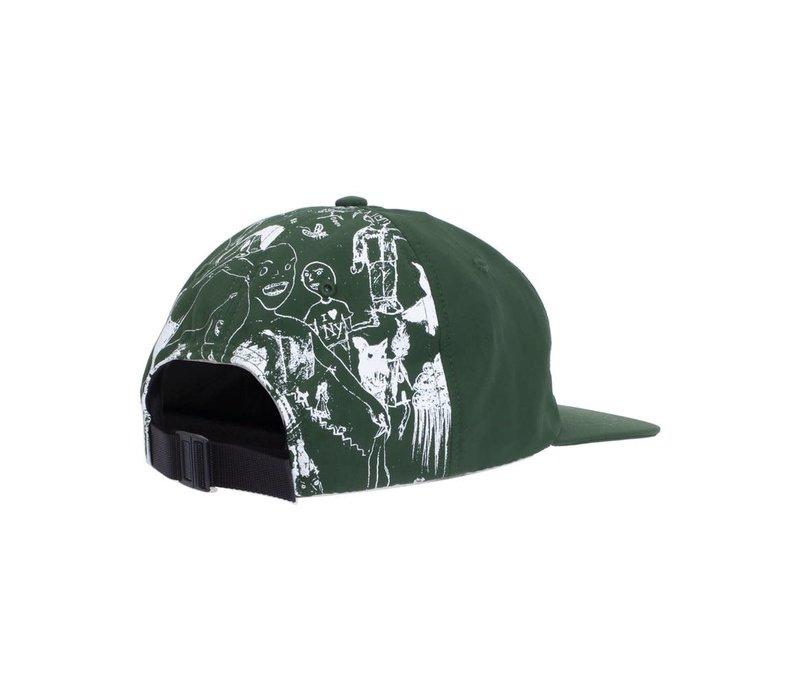 FA Drawings Hat Green