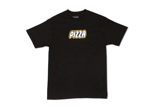 Pizza Pizza Block Tee Black