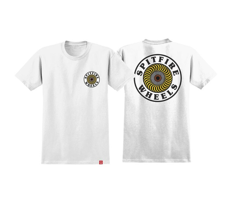 Spitfire OG Circle White/Yellow/Red