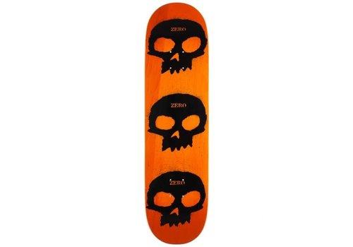 Zero Zero - Multi Skull Stencil Orange 8.5