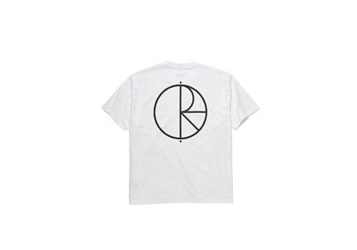 Polar Polar Stroke Logo Tee White
