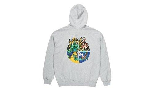 Polar Polar Castle Fill Logo Hoodie Sports Grey