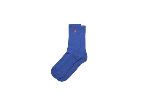 Polar Polar No Comply Socks Blue/Orange