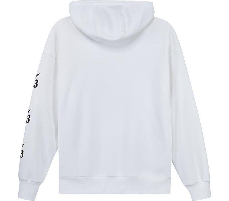 Adidas Test Print Hood White