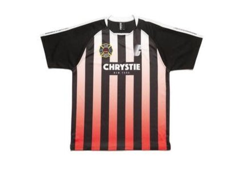 Chrystie NYC Christie NYC Soccer Jersey Red Ombre
