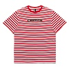 Chrystie NYC Chrystie NYC Stripe Tee Red
