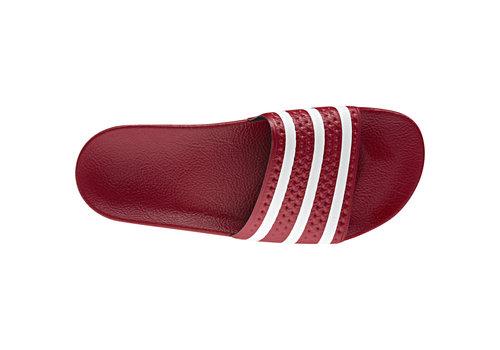Adidas Adilette Red/White