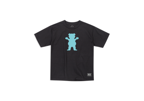 Grizzly Grizzly OG Bear Youth Tee Black/Mint