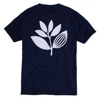 Magenta Classic Plant Tee Blue
