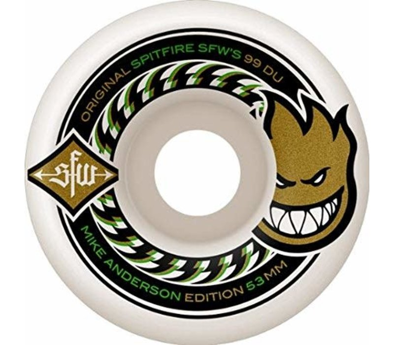 Spitfire SFW Anderson 53mm Shaped 99duro