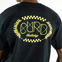 Curb Race Laurel Tee Black