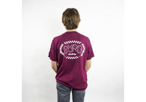 Curb Curb Race Laurel Youth Tee Burgundy
