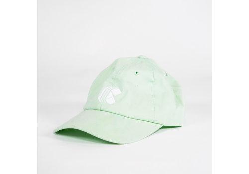 Curb Curb Race Logo Mint Green Cap