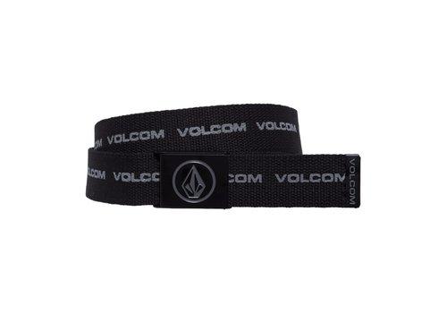 Volcom Volcom Circle Web Black Print Belt
