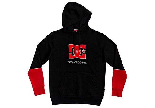 DC DC Wepma Hood Red/Black