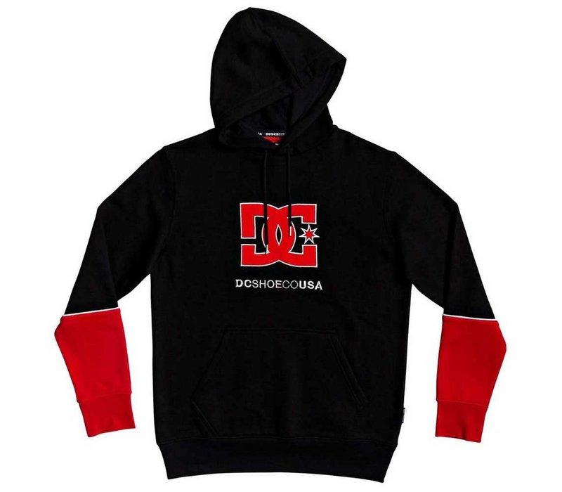 DC Wepma Hood Red/Black