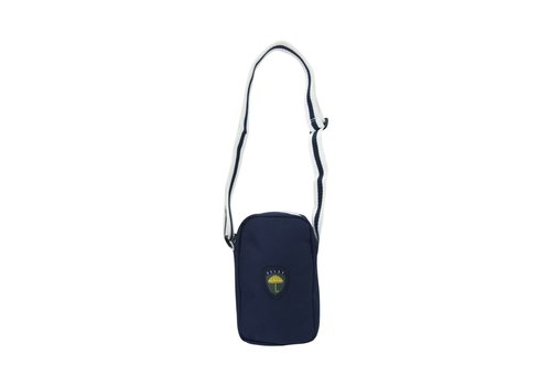 Hélas Helas Fan Neck Bag Navy