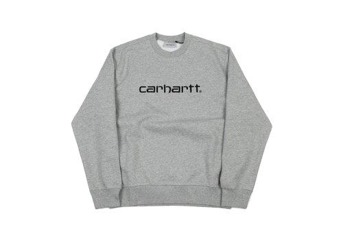Carhartt WIP Carhartt Crewneck Sweat Grey heather/Black