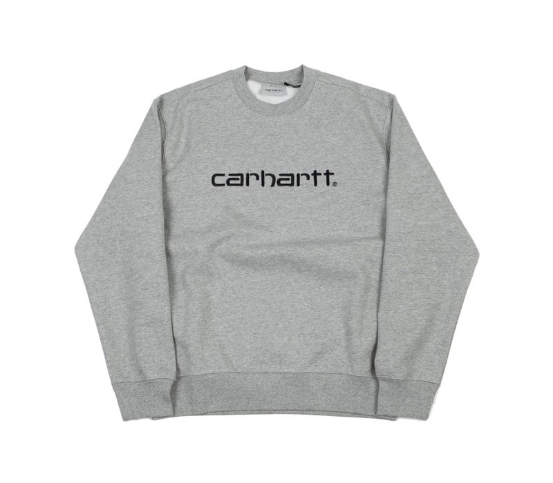Carhartt Crewneck Sweat Grey heather/Black