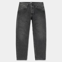 Carhartt Newel Pant Black Stone Washed (No Length)