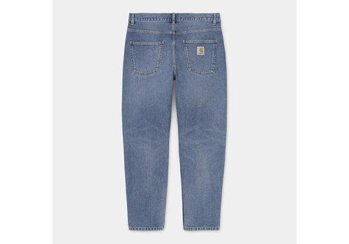 Carhartt WIP Carhartt Newel Pant Blue Worn Bleached (No Length)