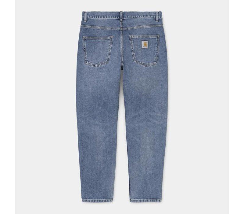 Carhartt Newel Pant Blue Worn Bleached (No Length)