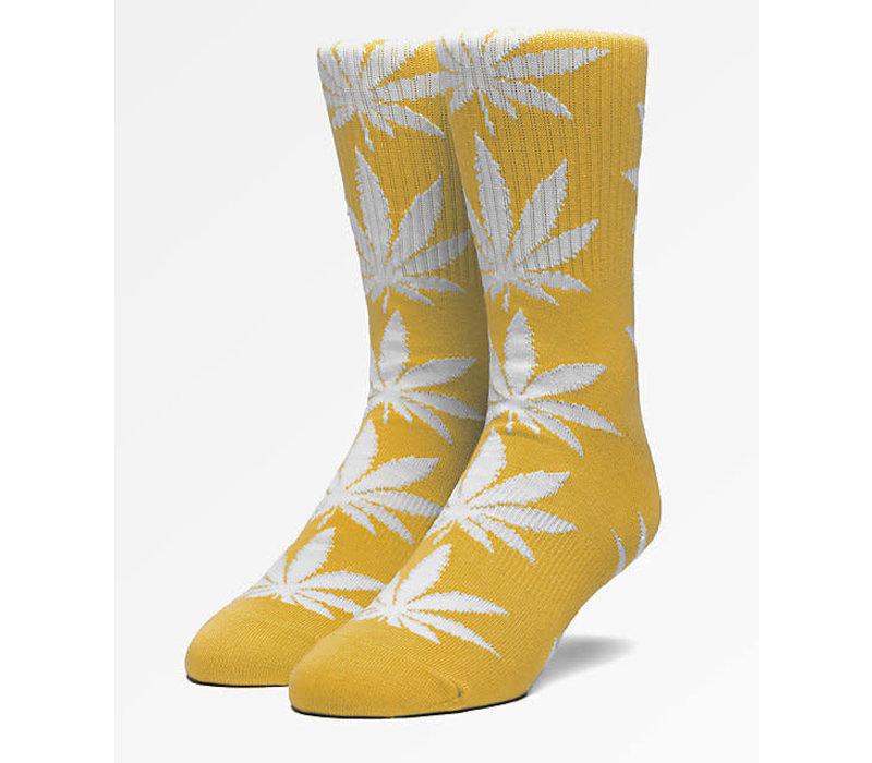 Huf Plantlife Crew Socks Sauterne