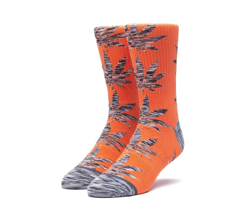 Huf Melange Leaves Plantlife Sock Rust