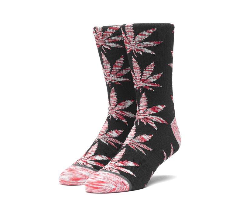 Huf Melange Leaves Plantlife Sock Black