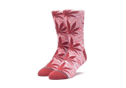 HUF Huf Melange Plantlife Sock Rosewood Red