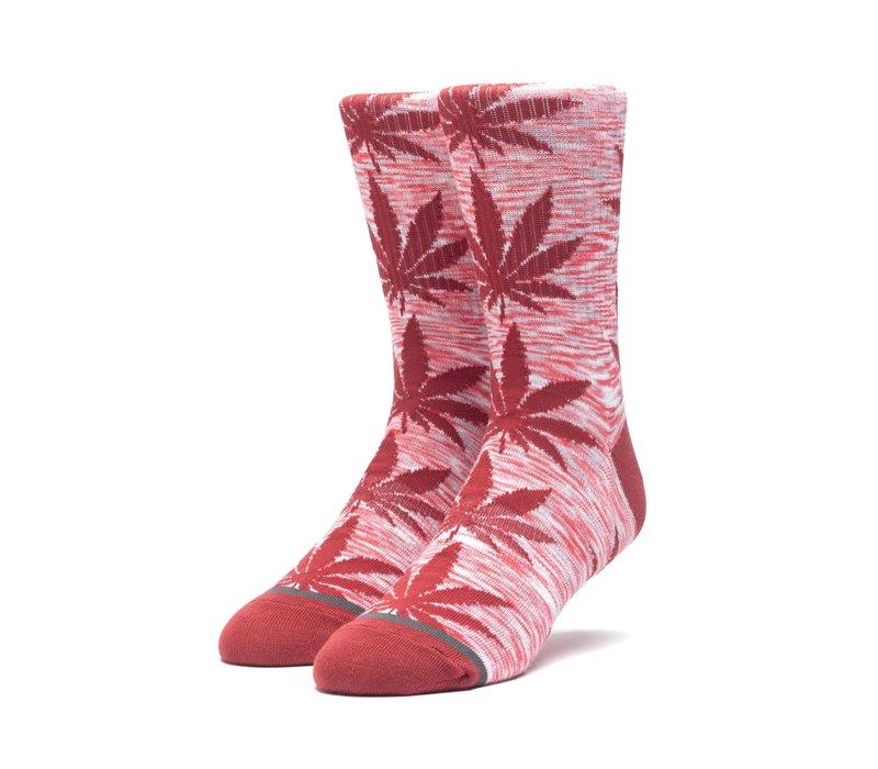 Huf Melange Plantlife Sock Rosewood Red
