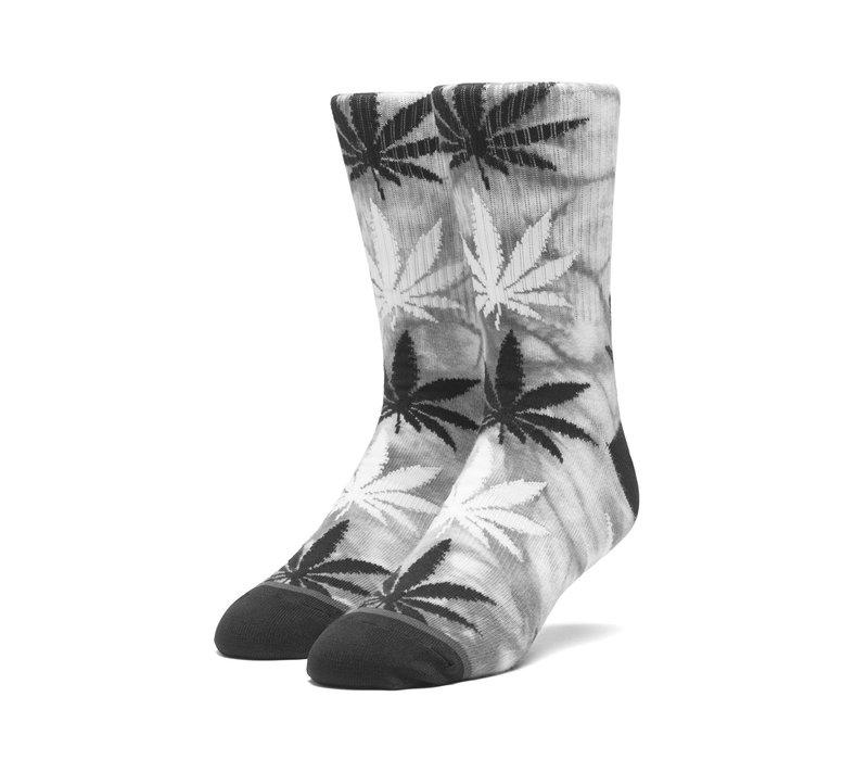 Huf Tie Dye Plantlife Sock Black