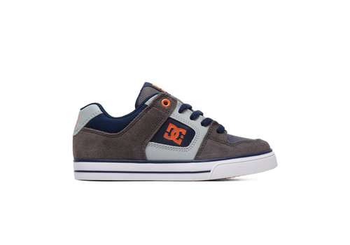 DC Shoes DC Youth Pure Grey/Dark Navy