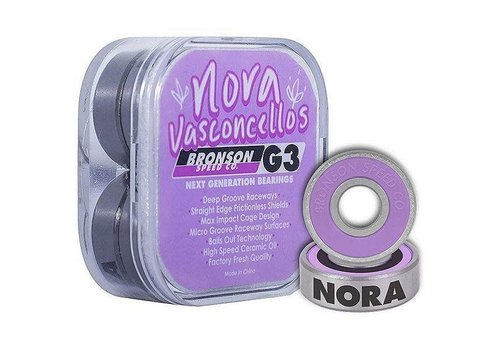 Bronson Speed Co. Bronson Bearings Nora Pro Purple G3