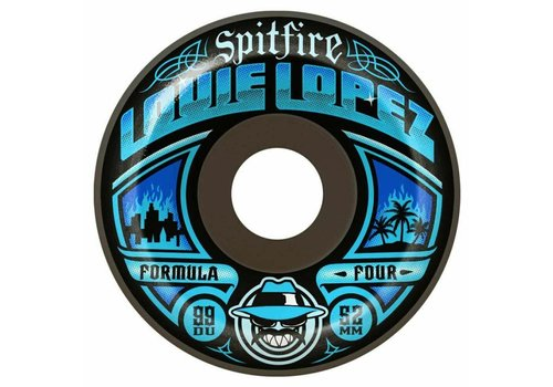 Spitfire Spitfire Wheels F4 99a Lopez Especial Blue 52mm