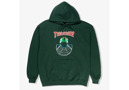 Thrasher Thrasher Doubles Hoodie Forest Green