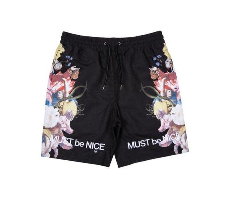 Ripndip Heavenly Bodies Nyon Shorts Black
