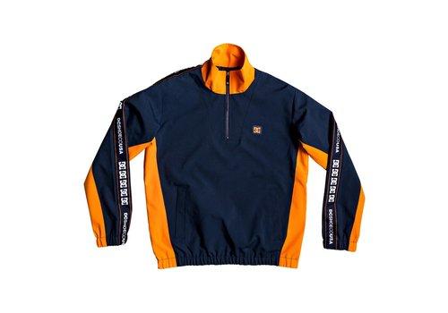 DC DC Astrak Packable Half Zip Tracksuit Jacket Navy/Orange