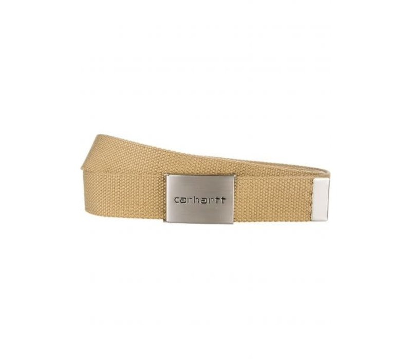 Carhartt Clip Belt Chrome Leather