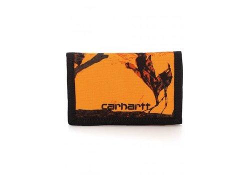 Carhartt WIP Carhartt Payton Wallet Camo Tree Orange/Black