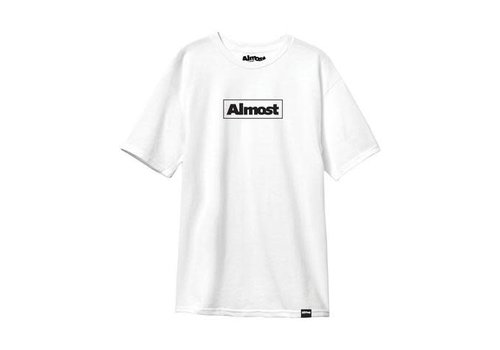 Almost Almost - Out Of The Box Tee White