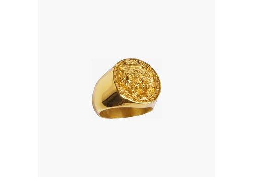 DGK DGK Big Cat Gold Ring