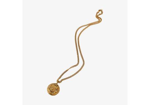 Baker DGK Big Cat Necklace Chain Gold