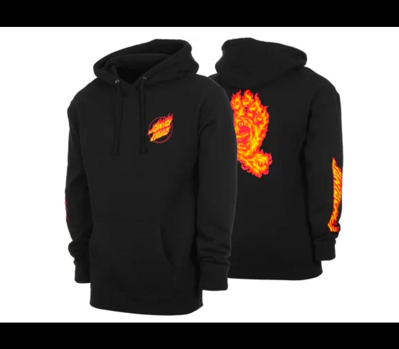 Santa Cruz Flame Hand Hood Dark Navy