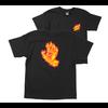 Santa Cruz Santa Cruz Youth Flame Hand Tee Black