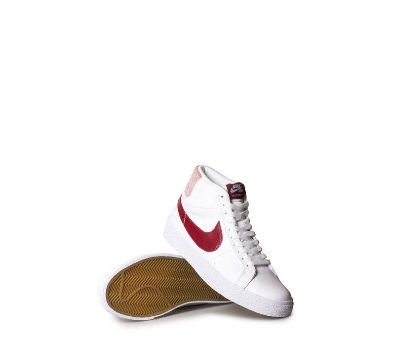 Nike SB Zoom Blazer Mid PRM White/Team Red